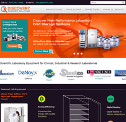 Website Redesign Provides Improved Functionality to Meet Customers' Scientific Instrument Needs