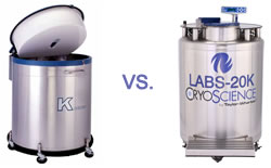Cryogenic Storage Wars - Liquid Phase or Vapor Phase LN2 Freezer?