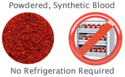 Powdered Blood? Synthetic Blood Trials Show Promising Results
